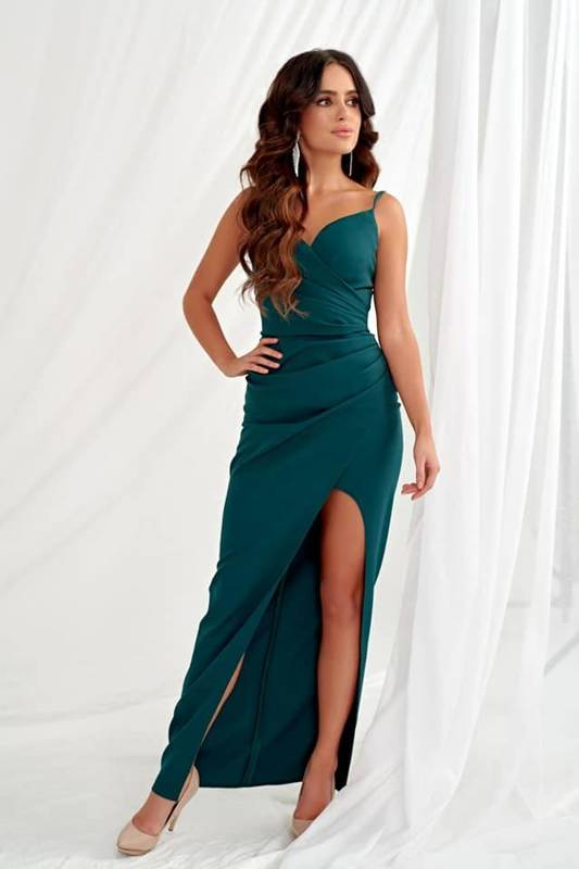 Sukienka Laura II-  zielony