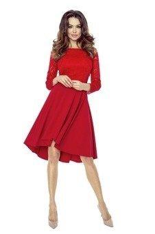 Sukienka koktajlowa z koronką