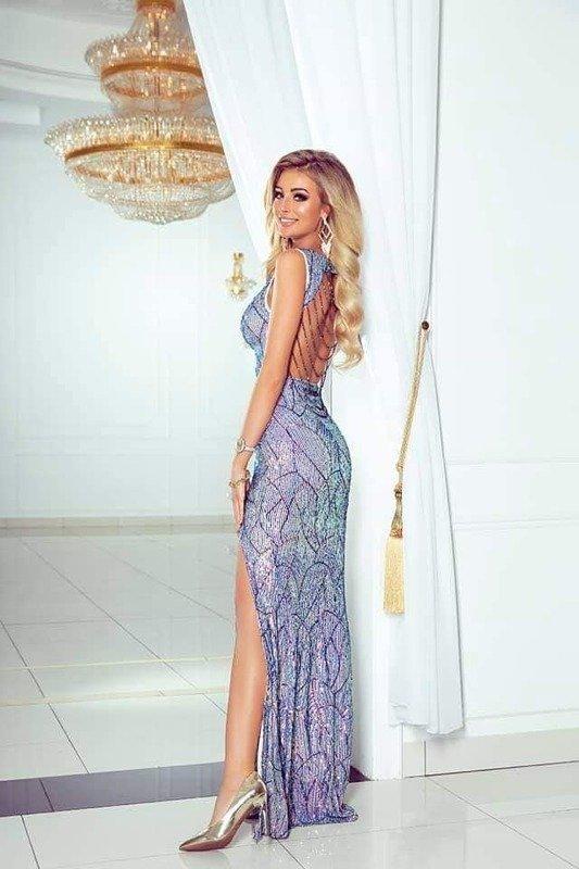 Długa Sukienka CAMELEON