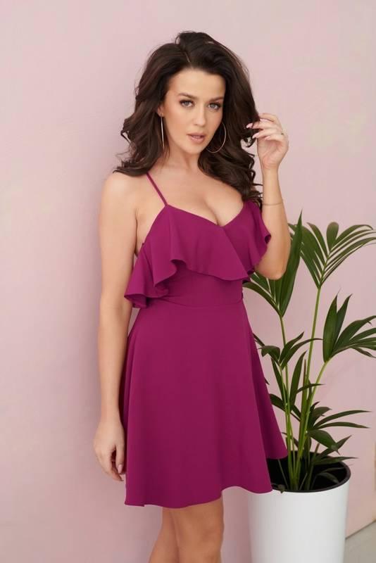Sukienka Megan-śliwka