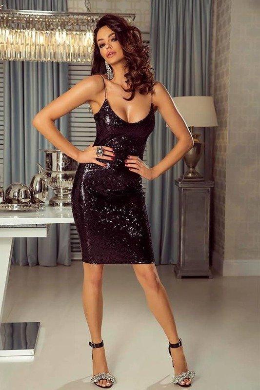 Sukienka Nikol  - czarny