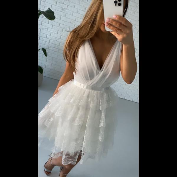 Sukienka Sindy- biały