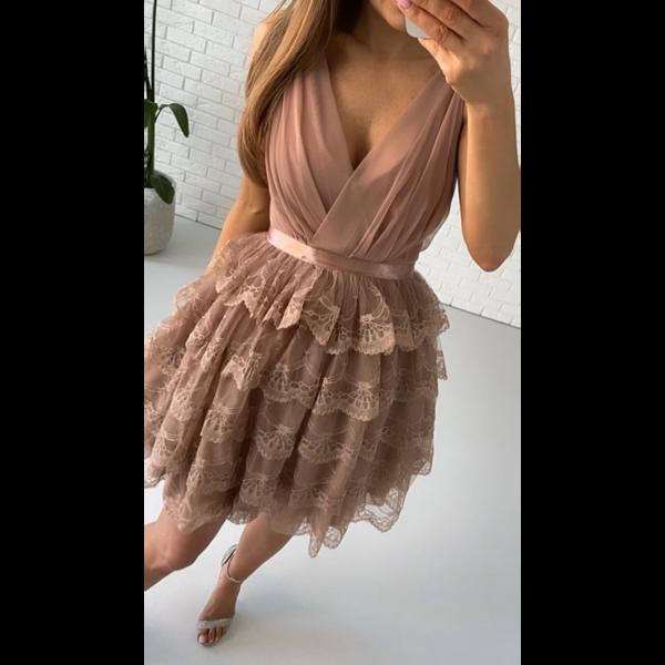 Sukienka Sindy- cappucino
