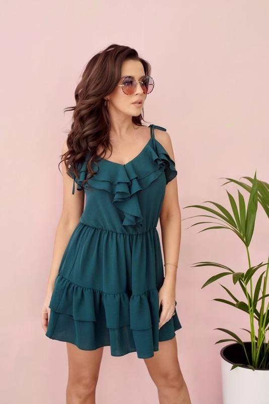 Sukienka VICKY - zielony
